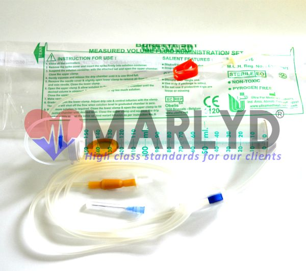 set perfuziee burette set
